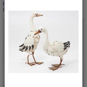Metal Outdoor Ducks